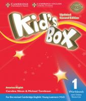 American Kids Box 1 - Workbook With Online Resources Updated - 2ed