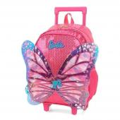 Mochilete Pink Com Asas 3d Barbie - Ic34452bb