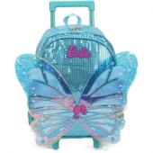 Mochilete Azul Com Asas 3d Barbie - Ic34452bb