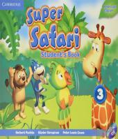Super Safari 3 - Students Book With Dvd-rom - American English