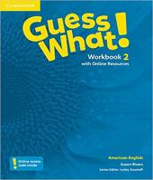 Guess What! 2 - Workbook With Online Resources - American English