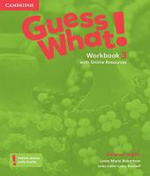 Guess What! 3 - Workbook With Online Resource - American English