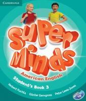 American Super Minds 3 - Student´s Book With Dvd-rom