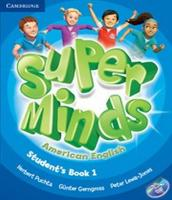 American Super Minds 1 - Student´s Book With Dvd-rom
